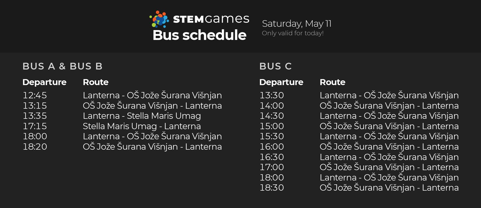 20190510 – Raspored bus SUB