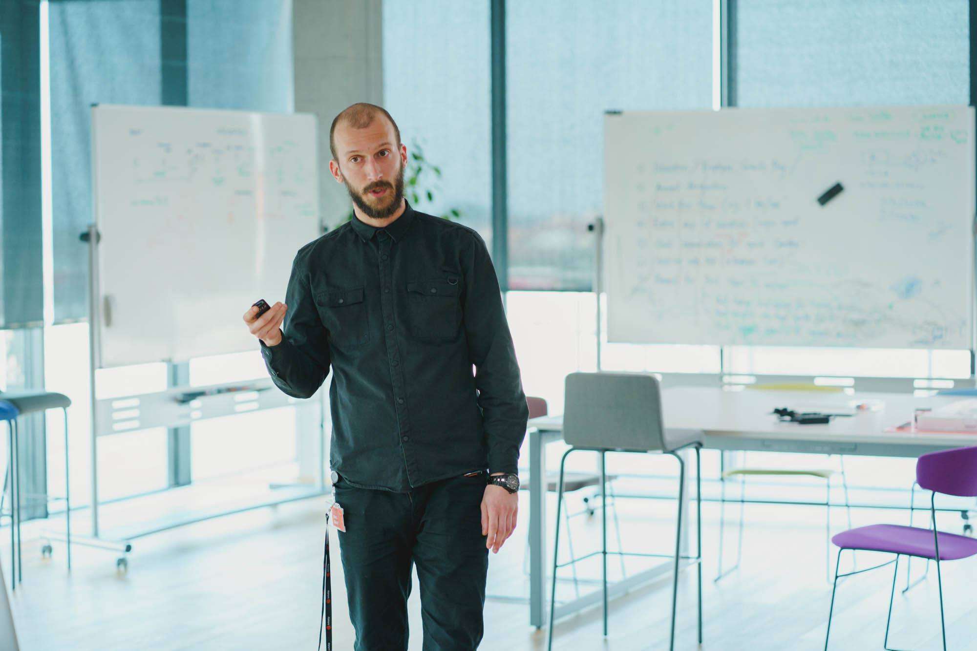 Infobip, fotografija mentora (Roko Gudić)