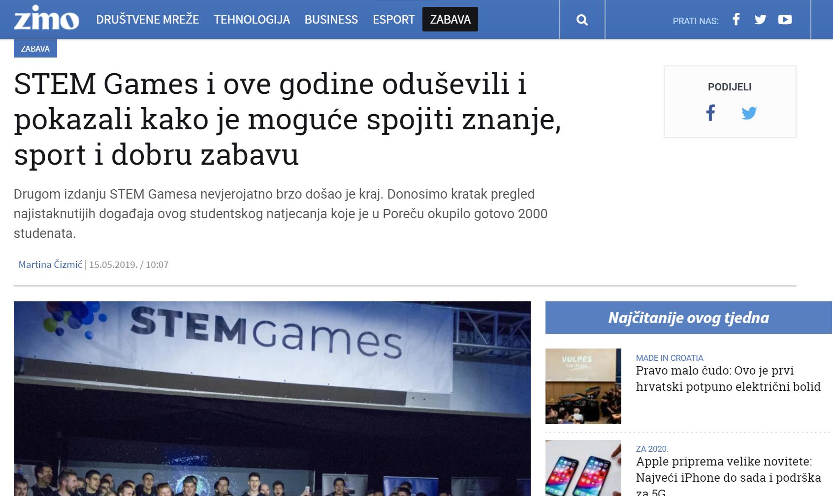 20190620 – STEM Games – Zimo zadnja objava